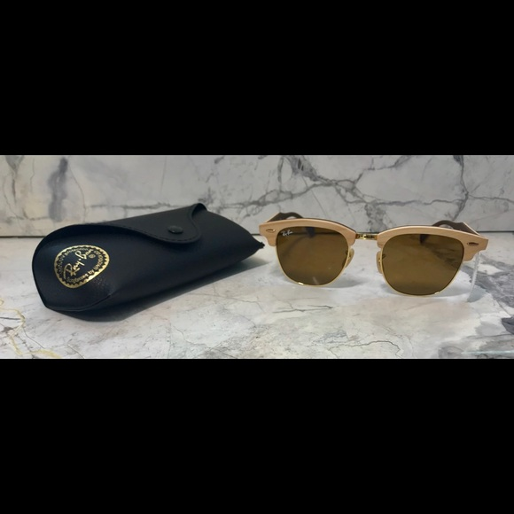 4f2ca30f9cf94 Authentic Ray-Ban ClubMasters Wood - 3016M